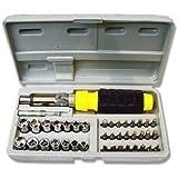 Shopo's 41 In 1 Pcs Tool Kit & Screwdriver and Socket Set