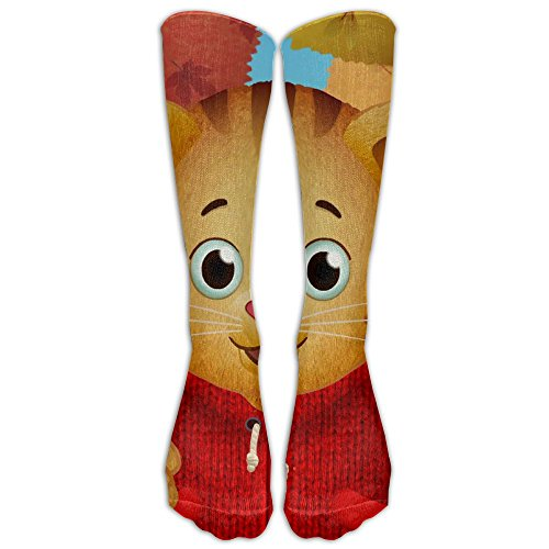Daniel Tiger's Neighborhood Over-the-Calf Tube Socks Stockings For Men And Women - Running & Fitness - Best Medical, Nursing, Travel & Flight (National Costumes Coloring Pages)