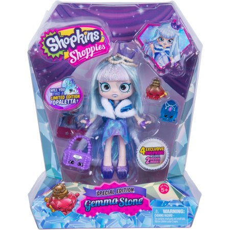 Shopkins Shoppies Gemma Stone Doll (Bj Doll)