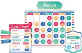 Watercolor Calendar Bulletin Board