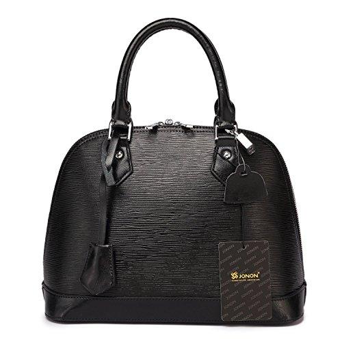 jonon-summer-colorful-wood-grain-embossed-genuine-leather-womens-crossbody-bag-shoulder-shell-bag-bl