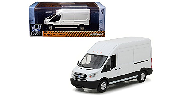 2017 Ford Transit High Roof Greenlight 1//43 Scale  Diecast Model Car Van 86083
