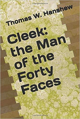 Como Descargar De Mejortorrent Cleek: The Man Of The Forty Faces Libro PDF