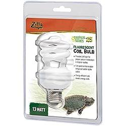 Zilla 11830 Tropical 25 UVB Fluorescent Bulb, 13-Watt Coil