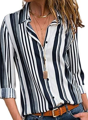 Astylish Womens Stripes Sleeve Blouses product image