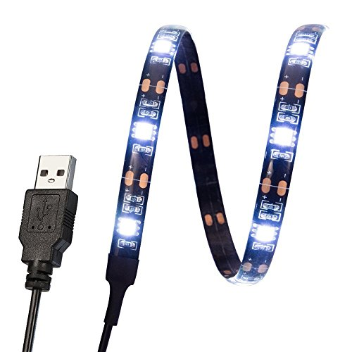 LED TV Backlight Light Kit, 5V USB Waterproof LED Strip for Flat Screen TV LCD, Desktop Monitors