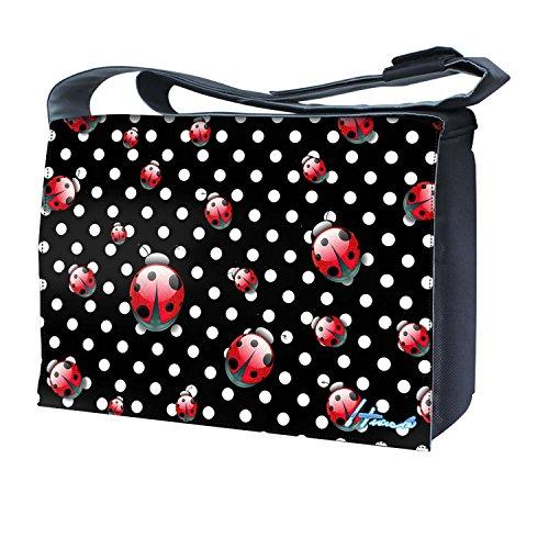Ektor - Bolso al hombro para mujer Polka dots & Ladybugs