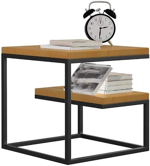 ACZZ Mesa auxiliar, mesita de noche, mesita de noche o mesa de ...