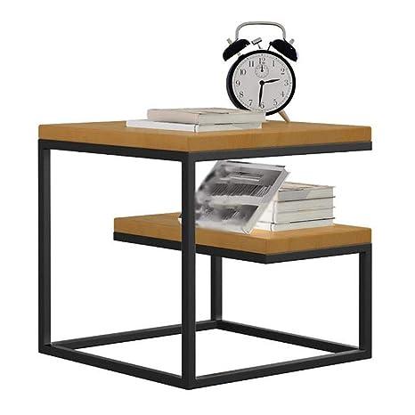 ACZZ Mesa auxiliar, mesita de noche, mesita de noche o mesa ...