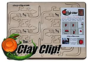 42 Pack - Clay Clip Target Hangers - use Clays as Targets!