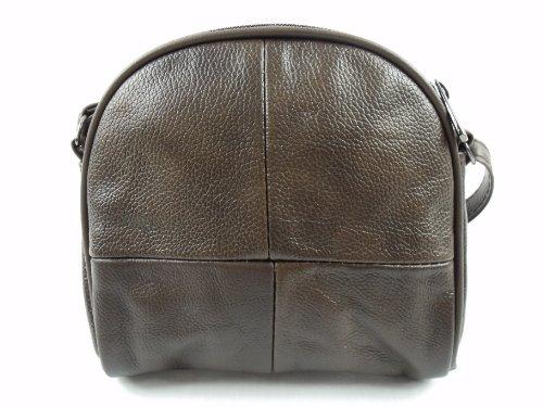 The Leather Emporium , Damen Schultertasche Braun Braun