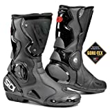 SIDI B2 BLACK WATERPROOF MOTORCYCLE SPORTS BOOTS + FREE SOCKS new