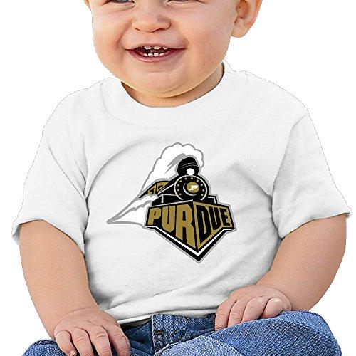 GUC Baby's T-shirt - Purdue University Athletics White