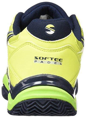 Softee-Chaussure de Padel Winner 1,0 Jaune/Noir Taille 45