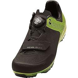 Pearl Izumi Men's X-Project Elite Cycling Shoe, Black/Lime Punch, 46 EU/11.5 D US