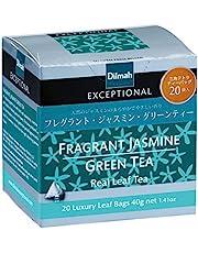 Dilmah Exceptional Frangrant Jasmine Green Tea, 40 Grams