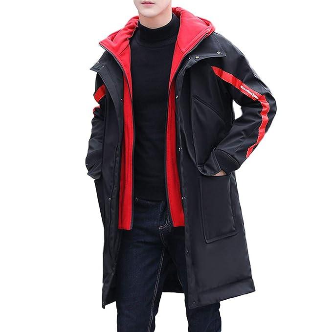 Chaqueta De Hombre, Modaworld Abrigo De Moda De Invierno Abrigo De ...