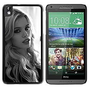 New Custom Designed Cover Case For HTC Desire 816 With Stacey Hannant Girl Mobile Wallpaper.jpg