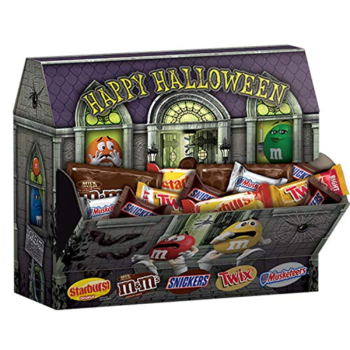 MARS Chocolate and More Haunted House Halloween Candy
