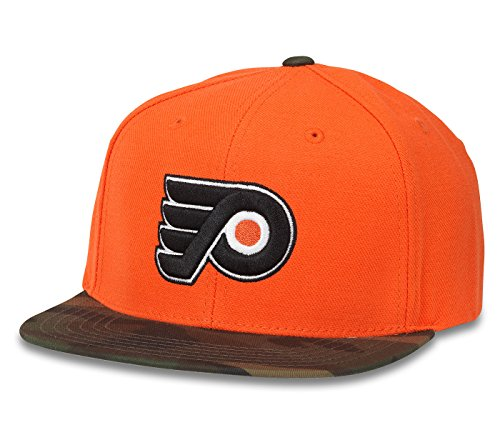 (NHL American Needle Sundown Camo Adjustable Snapback Hat (Philadelphia Flyers))