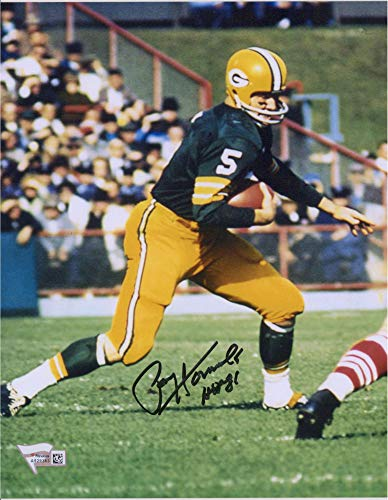 Paul Hornung Green Bay Packers Autographed 8