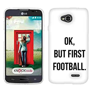 For LG L70 Realm Exceed 2 First Football plastic cover case