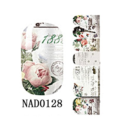 Wraps Art Decals Nail Stickers Type NAD0128