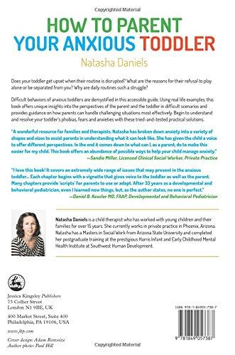 How to Parent Your Anxious Toddler: Natasha Daniels: 9781849057387 ...