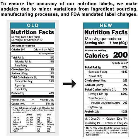 Quest Nutrition Chocolate Chip Cookie Dough Protein Bar, High Protein, Low Carb, Gluten Free, Soy Free, Keto Friendly, 12 Count 11