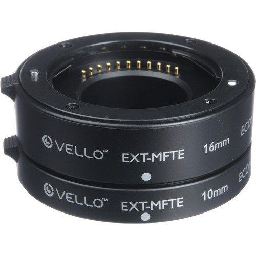 Vello Econo Auto Focus Extension Tube Set for Micro Four Thi