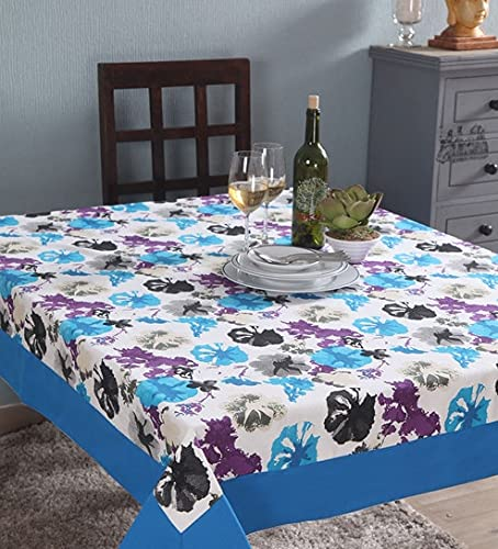 Lushomes 4 Seater Watercolor Printed Table Cloth