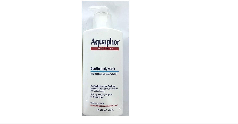 Aquaphor Gentle Body Wash Mild Cleanser for sensitive skin 13.5oz. (Single)
