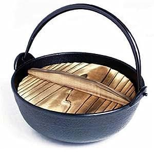 Japanese Shabu Shabu Pot Sukiyaki Iron Nabe 6In 815-15 S-1802