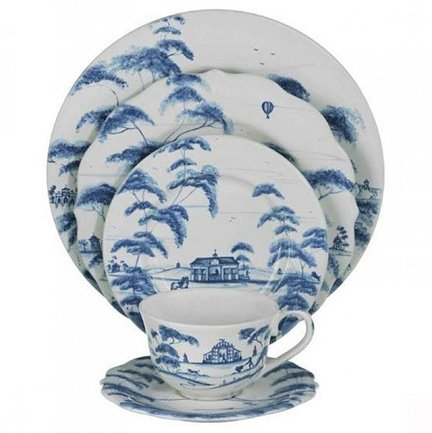 Juliska Country Estate 5pc ting Delft Blue (CE01 -