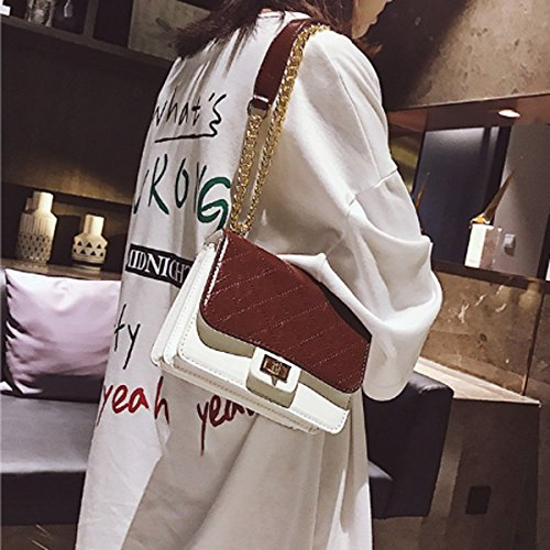 claro mujer hombro 18cm verde para Negro Bolso 8cm × 15cm × al xiaohu FxfwEnYqCq
