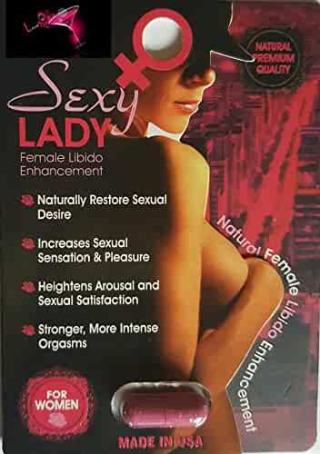 Sexy Lady AND Sparxxx (Combo) Best Female Sexual Libido Arousal Enhancement  3 Pack PLUS LOVE POTION PEN