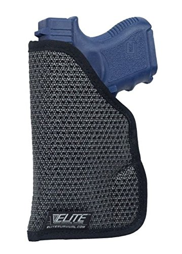 MAINSTAY Clipless IWB/Pocket Holster Size 7L fits Ruger LC9 with Laser / Kel-Tec PF9 with Laser