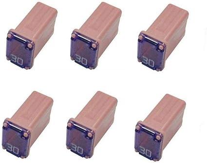 Bussmann FMM-30 MAXI Fuse Pink Slow Blow Micro Female - 30 A 1 Pack