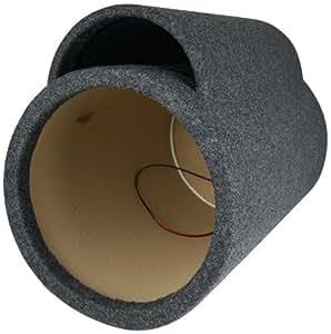 "NEW NIPPON TUB12 12"" Car Audio 5/8"" Ported Vent Subwoofer Sub Tube Box Enclosure"
