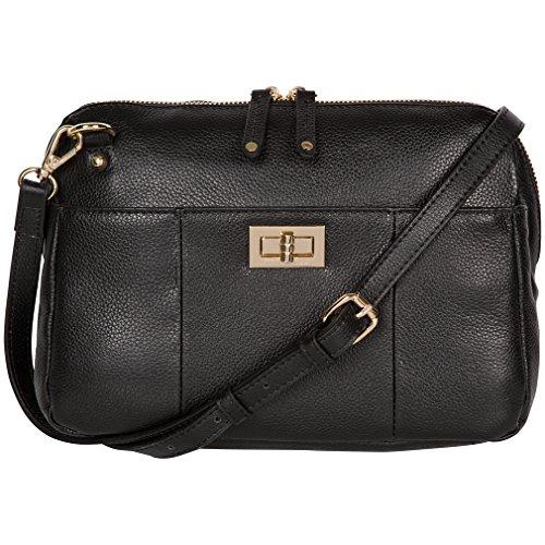 RFID Leather Cross Body Handbag