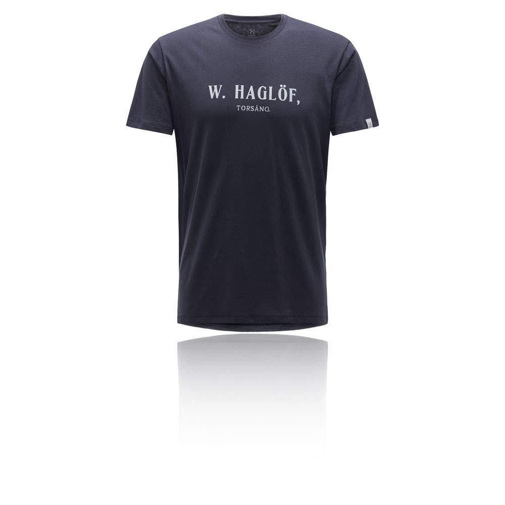 Negro 2019 Camiseta Manga Corta Hombre Hagl/öfs Camp