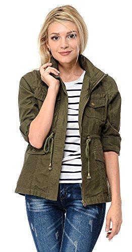 Military Style Jacket Women - 9