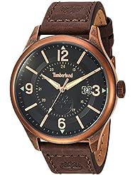Timberland Mens TBL14645JSQR02 BLAKE Analog Display Analog Quartz Brown Watch