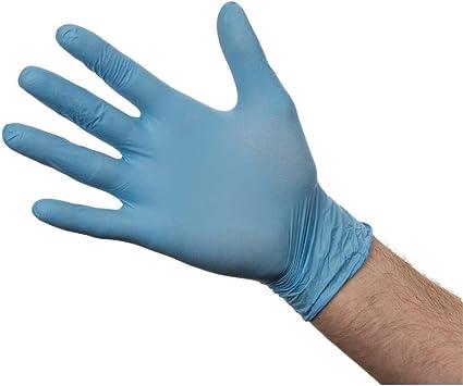 Unigloves UCN1204 Guantes de nitrilo sin polvo tama/ño grande, 100 unidades