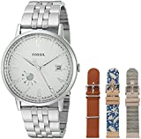 Fossil Women's ES3995SET Vintage Muse Stainless Steel and Leather Watch Box Set