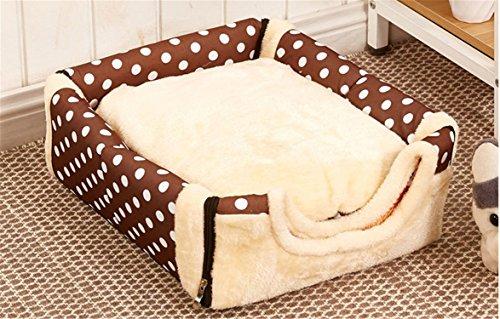JPtuotu Multifuncional plegable Cama Cómodo Casa Para Perro gato Mascota (S (35X30X28CM), Patrón 3): Amazon.es: Hogar