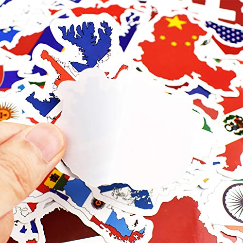 USA United States of America American map flag sticker decal 5 x 3 szstickers