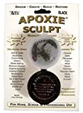 Aves Apoxie Sculpt Modeling Clay, 1/4lb, Black