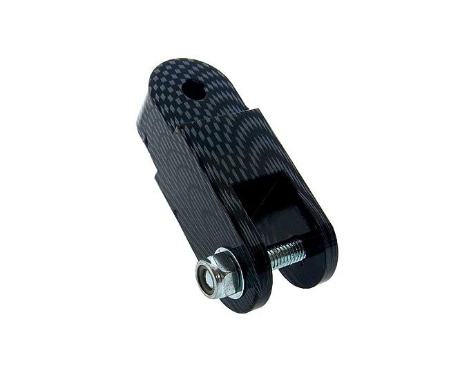 H/öherlegungssatz Naraku 60mm Carbon-Look f/ür Yamaha Jog 50 R AC