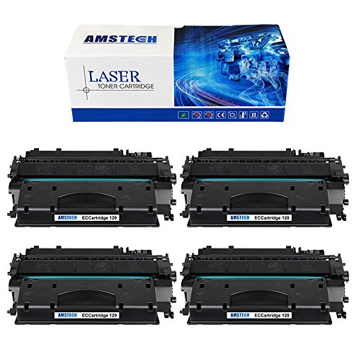 4 Pack Amstech Compatible Canon 120 Toner Cartridges for ...